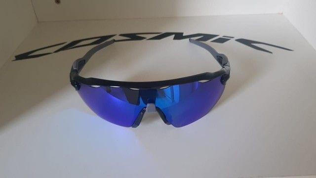 Óculos Ciclismo Oakley Radar Ev Advc Preto/Cinza - Foto 2