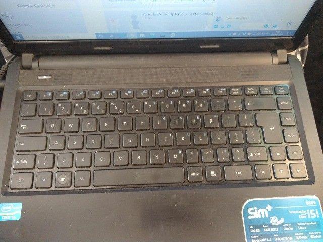 Notebook i5 8gb 250gb SSD tela 14 Windows 10 - Foto 4