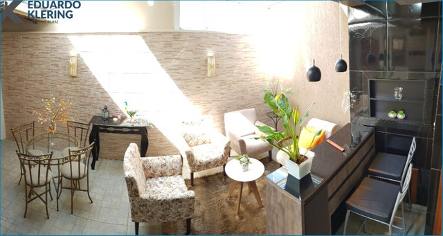 Casa em Condomínio, 3 dormitórios, suíte, 2 banheiros e lavabo, 127,40m², Sapucaia - Foto 4