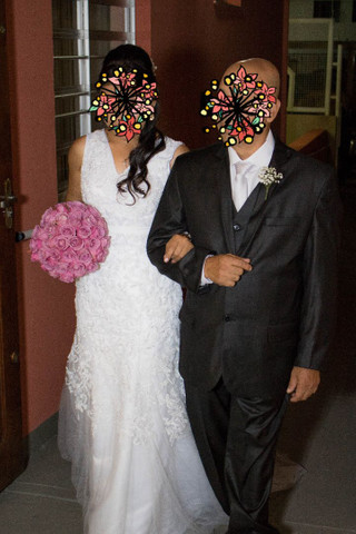 Vestido noiva baixinha - Foto 3