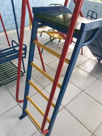 Parquinho de Ferro, Ideal para escolas, creches e hotelzinho - Foto 3