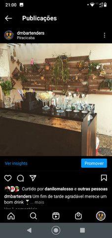 Balcão de bartender desmontável  - Foto 3