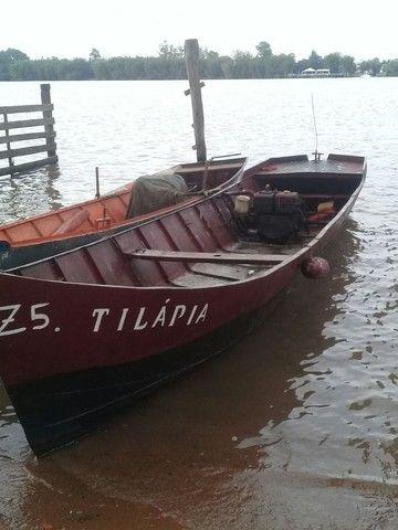 Barco de ferro motor a diesel  - Foto 2