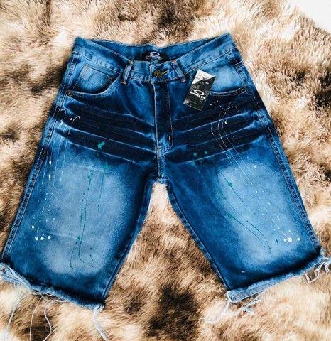Atacadista de bermuda jeans - Foto 3