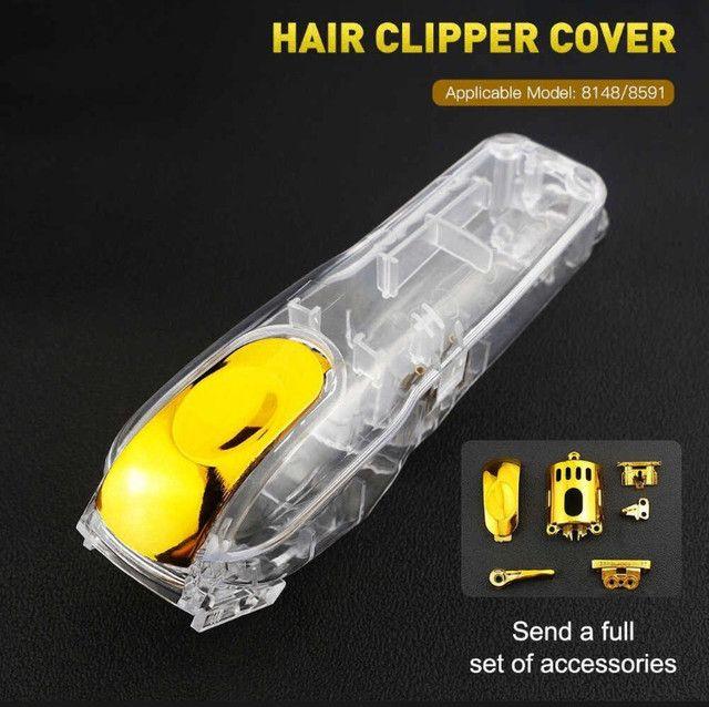 Carcaça Transparente Magic Clip Cordles Acessorios Dourado - Foto 6