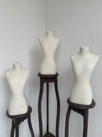 Manequins de busto