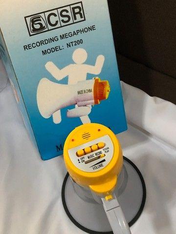 Megafone Profissional CSR Nt200 35w Com Memória E Música - Foto 3