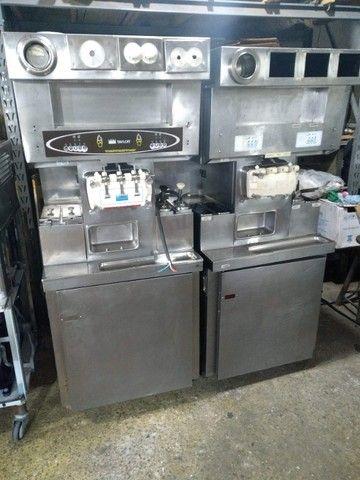 taylor 8 7 5 6 twin com acessorios para comercio de sorvete expresso