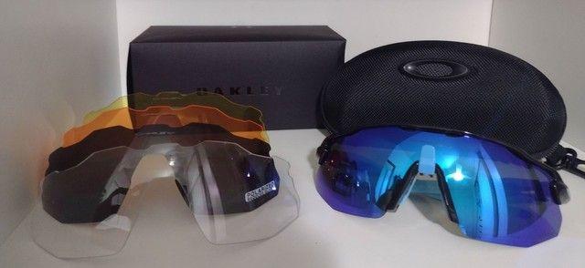 Óculos Ciclismo Oakley Radar Ev Advc Preto/Cinza