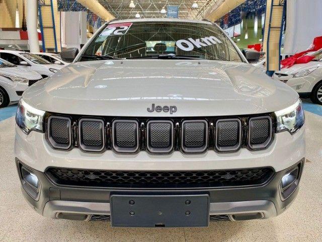 Jeep Nova Compass Longitude T350 4x4 a Diesel A Pronta entrega!!! Santo Andre São Paulo - Foto 8