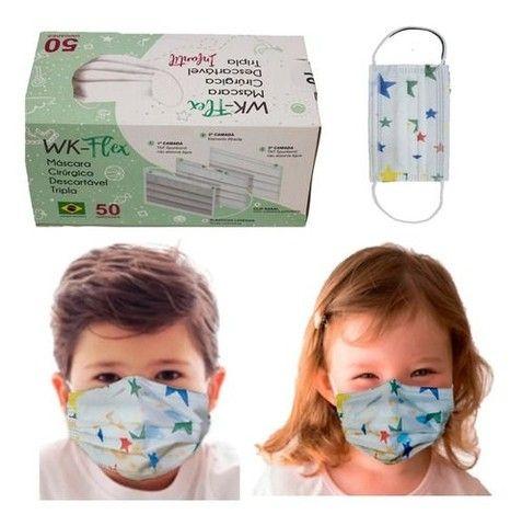 Máscaras Descartáveis para todas as idades - Foto 2