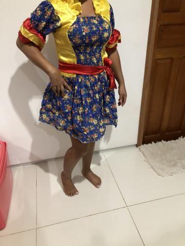 Vestido de quadrilha 20