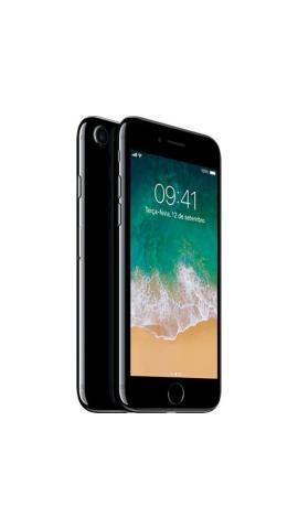 IPhone 7 128GB Jet Black Desbloqueado IOS 10 Wi-fi + 4G Câmera 12MP - Apple