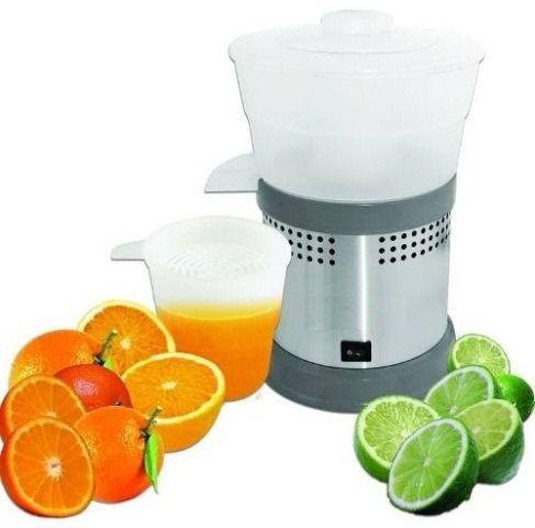 Espremedor eletrico comercial para sucos laranja, limão em lancheria,