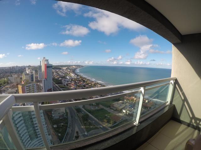 Apartamento mobiliado no Cond. Duna Barcane, andar super alto - Ponta Negra - Natal - RN