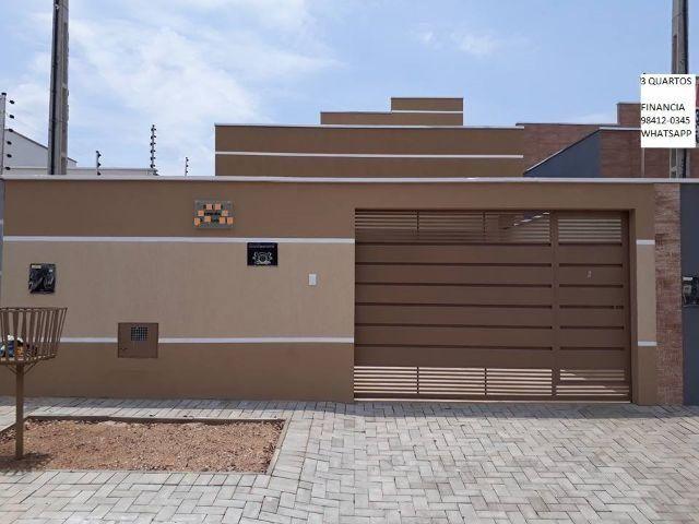Casa Nova Em Palmas-To Pronta Pra Financiamento Casa de Alta Padrão Individual