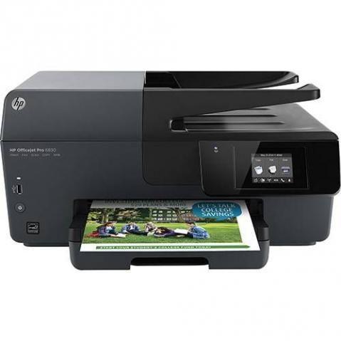 Multifuncional HP Officejet Pro 6830 Wi-Fi, Impressora, Copiadora, Scanner e Fax