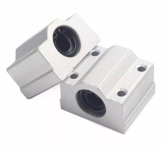 COD-CP132 Pillow Block 8mm Com Rolamento Linear Sc8uu Cnc Arduino Automação Robotica - Foto 2