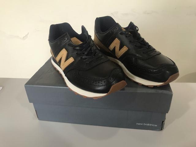 296b761708c Tênis New Balance 574 Original - Couro - Roupas e calçados - Centro ...