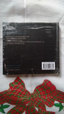 Cd: Coleção Folha De Música Clássica, Cd 7, Mahler. - Foto 3
