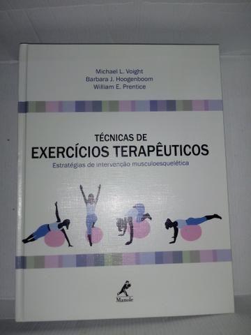 Livro Técnicas de exercícios terapêuticos