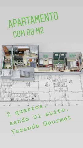 Apto Bairro Cidade Nova, 80 m², 2 qts/suite, Sac. gourmet, piso porc. 2 vgs. Valor 170 mil - Foto 4