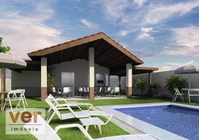 Apartamento com 2 dormitórios à venda, 48 m² por R$ 197.930 - Parangaba - Fortaleza/CE - Foto 3