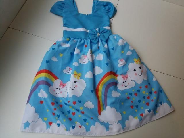 Vestido Chuva de amor Watshap(31)999353822 - Tamanho 6