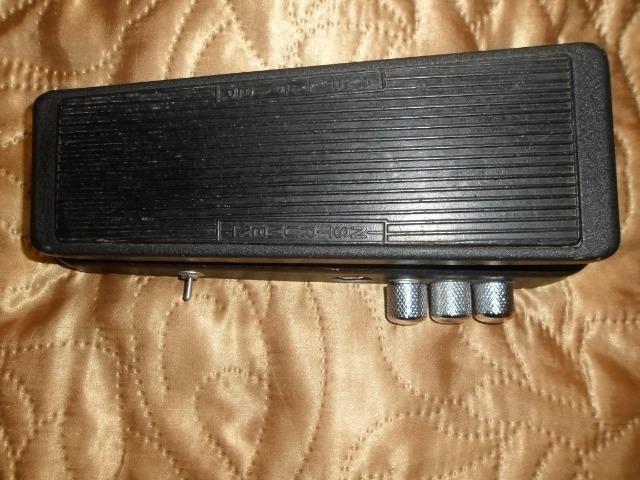 Pedal Dunlop Wah Wah Cry Baby Gcb-95 com Mod Tipo 535Q, em