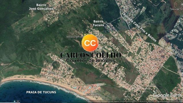 MACód: 103Terreno no Bairro Tucuns em Armação dos Búzios