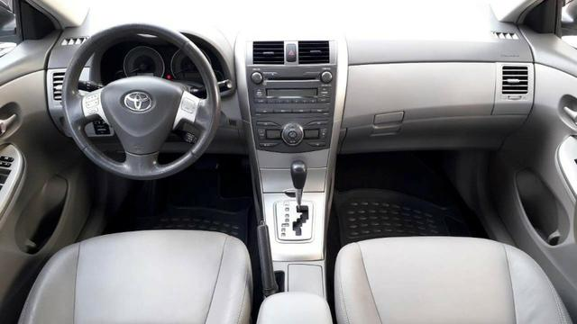 Corolla XEI - 2010 - Automático e Couro - Foto 9