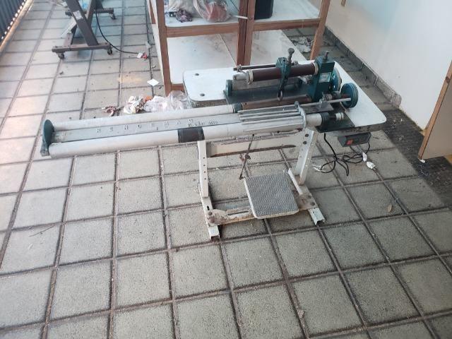 Maquina industrial de cortar vies aceito cartao
