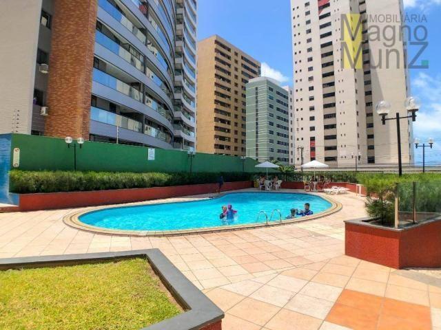 Apartamento com 2 dormitórios à venda por r$ 360.000 - praia de iracema - fortaleza/ce - Foto 2