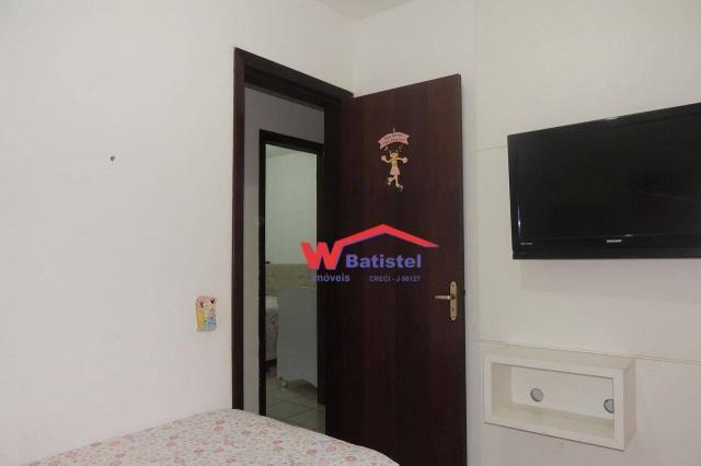 Casa com 3 dormitórios à venda, 50 m² por r$ 198.000 - rua jaguariaíva nº 288 - vila são j - Foto 16