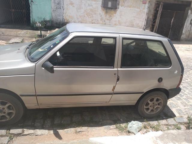 Vendo carro Fiat milli 1.0 1999 - Foto 4
