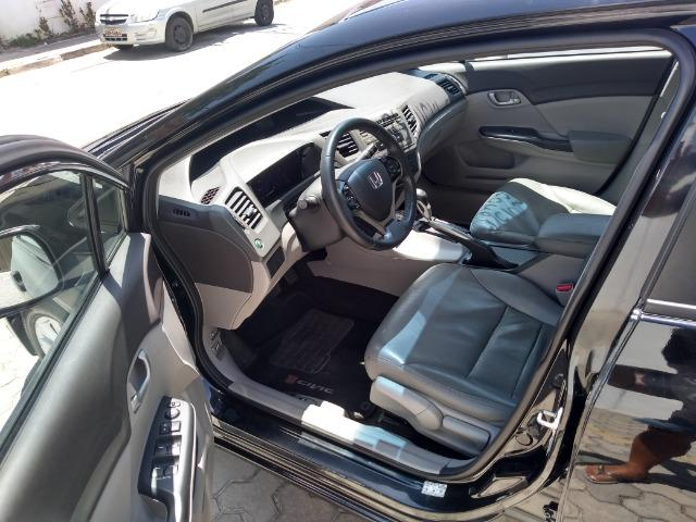 Honda Civic 13/14 lxs aut - Foto 6