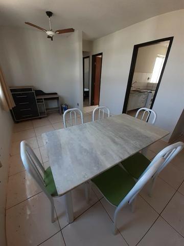 Apto mobiliado 2 quartos terra nova 4º andar ,sol da manhã atrás do shopping pantanal - Foto 10