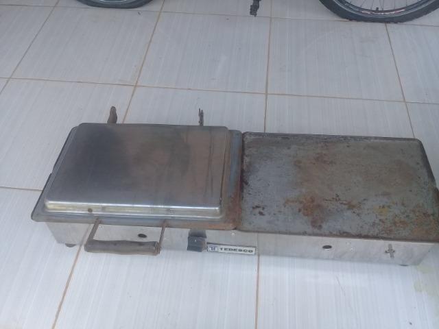 Chapa a gás - Foto 2