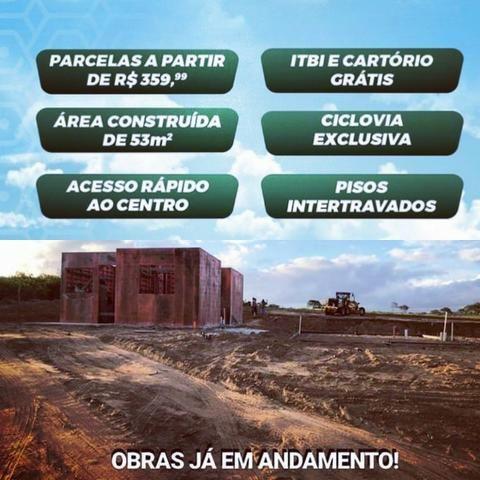 Casa no Luiz Gonzaga - 5 mil de sinal - 2 qts mensais de 399 reias de financiamento - Foto 11