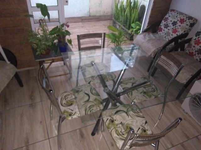 Mesa tampo vidro - Foto 4