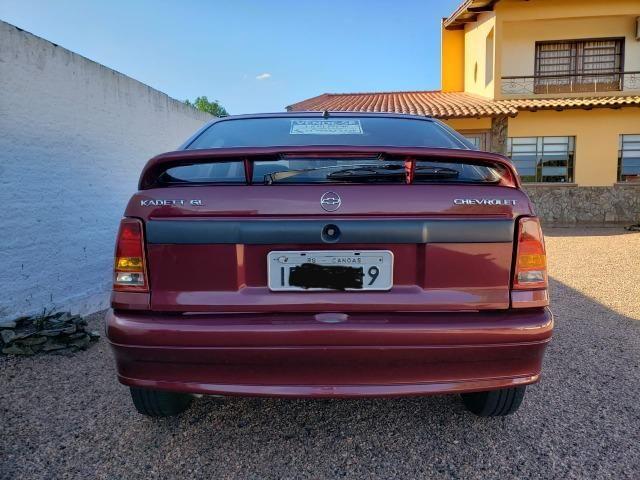 Chevrolet Kadett GL 1.8 EFI - Vermelho Goya Perolizado - Foto 5