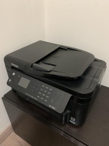 Impressora Multifuncional WF-3520 + cartuchos novos - Foto 2