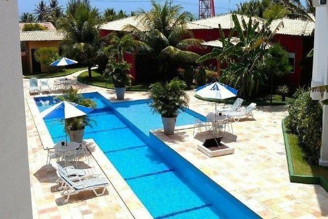 Flat In-Sonia 5 - Apto com varanda vista mar na Praia de Camurupim