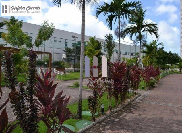 Apartamento com 3 dormitórios para alugar, 72 m² por r$ 2.000/mês - neópolis - natal/rn - Foto 15