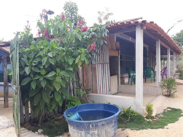 Vende-se ou troca em terra,chácara quitada, Local Parque das cachoeiras I - Foto 4