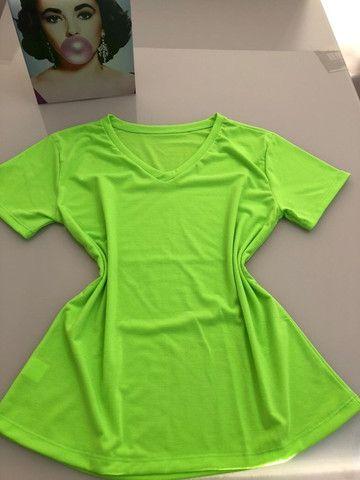 Tshirt Neon Verde - Foto 2