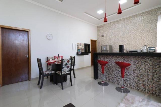 Casa com 3 dormitórios para alugar, 90 m² por R$ 3.100,00/mês - Beverly Falls Park - Foz d - Foto 2
