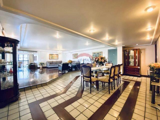Apartamento com 5 quartos 4 Suítes, 390 m² por R$ 1.300.000 - Batista Campos - Belém/PA - Foto 4
