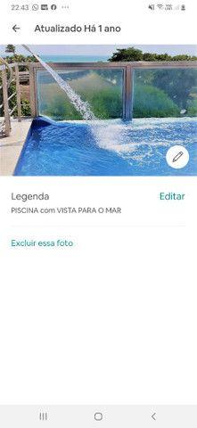 Flat Beira Mar em Joao Pessoa na Orla da Praia de TAMBAÚ com piscina,  Ar, Wi-Fi.  - Foto 12