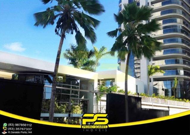 Oportunidade, apartamento p/alugar, 04 suítes, piscina, 05 vagas, 332,75m², por apenas R$  - Foto 2